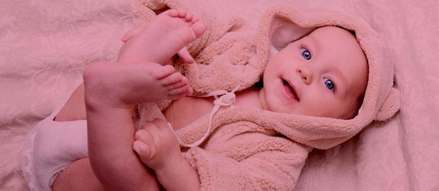 Quantidade de fraldas para o seu bebê.