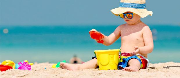 Redobre a atenção à saúde do seu filho no verão!